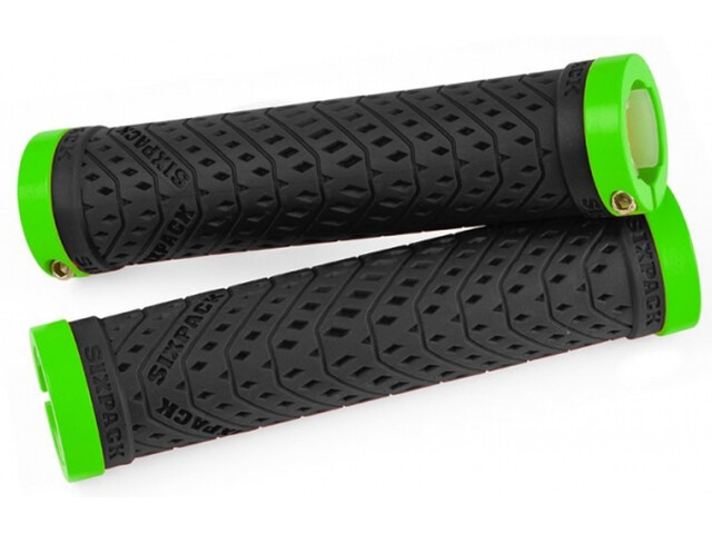 Sixpack K-Trix Lock-On Griffe schwarz/liquid-grün